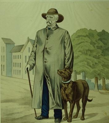 Prince Otto von Bismarck in Friedrichsruh
