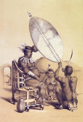 Umpanda the King of the Amazulu, 1849