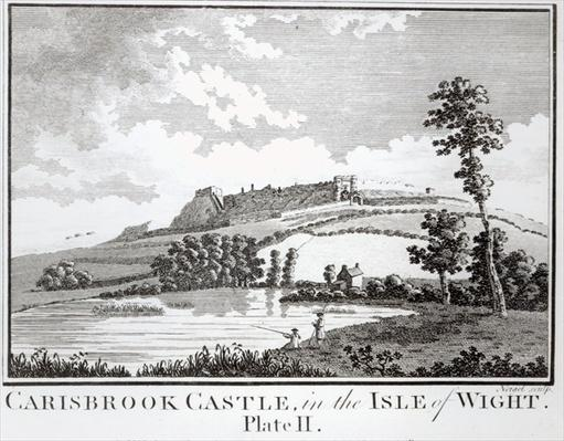 Carisbrook Castle, in the Isle of Wight