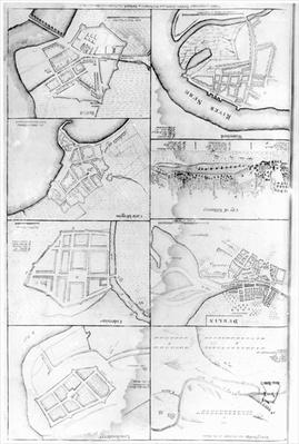 Plans of the principle Towers, Forts and Harbours in Ireland