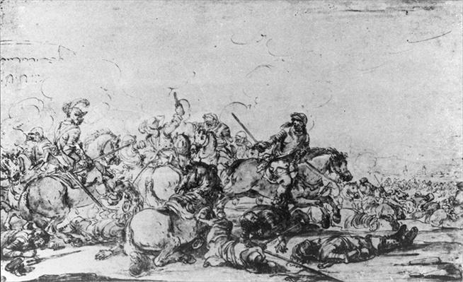 A Cavalry Battle