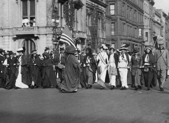 Suffrage March | Women's Suffrage | U.S. History