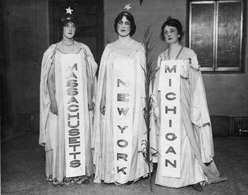 Suffrage Spectacle | Women's Suffrage | U.S. History