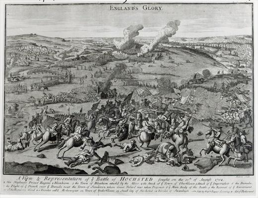 A View and Representation of the Battle of Hochsted, 13th August 1704