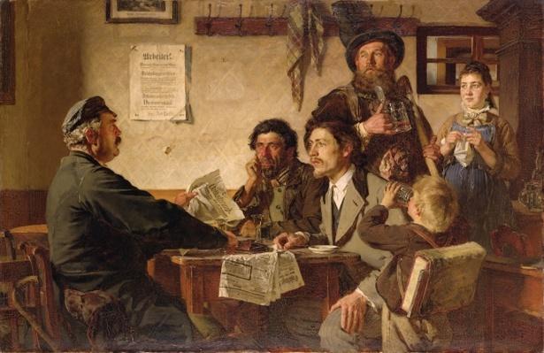Tavern Scene, 1877