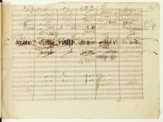 'Wellington's Victory, Op. 91', page 36, composed by Ludwig van Beethoven