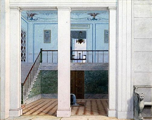 Vestibule, after 1829