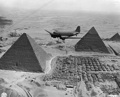 Dakota Over Pyramids | The Evolution of Military Aviation