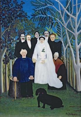 The wedding party, c.1905