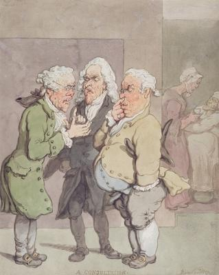 The Doctor's Consultation, 1815-1820
