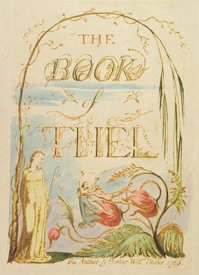 The Book of Thel, plate 2