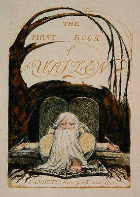 The First Book of Urizen, plate 1, 1794