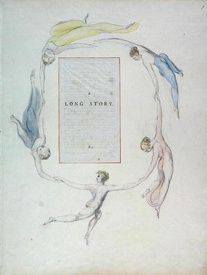 'A Long Story', design 23r from 'The Poems of Thomas Gray', 1797-1798