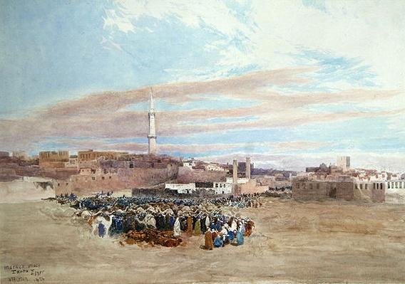 The Market Place, Tanga, Egypt, 1874