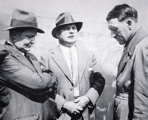 Adolf Hitler, Goering and Roehm, 1931
