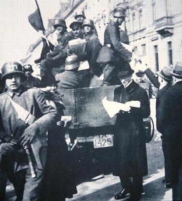 The Kapp-Luttwitz Nationalist coup d'etat in Germany, 1920