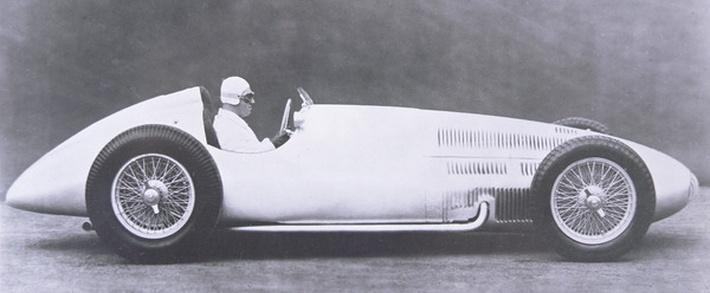 Mercedes Benz Grand Prix racing car, 1939