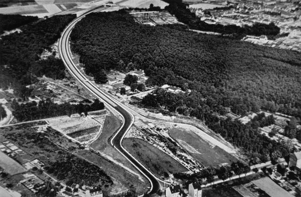 Hitler's new Autobahn system