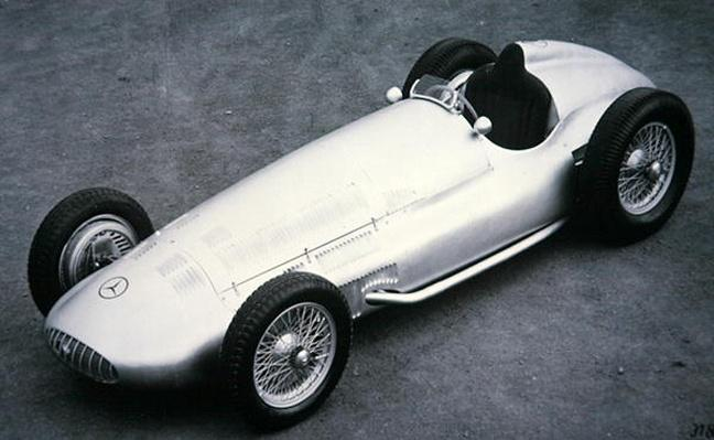 The 3 litre Mercedes Benz Grand Prix model, 1939