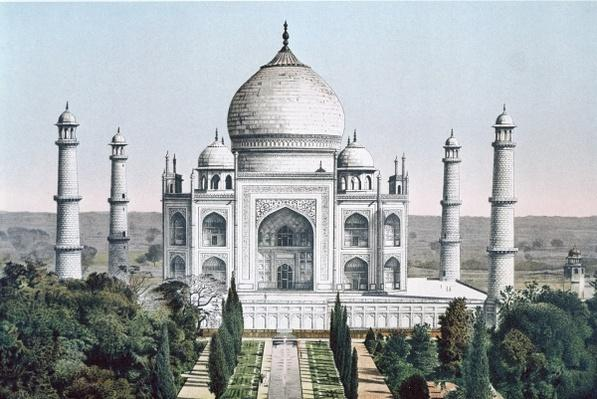 The Taj Mahal at Agra
