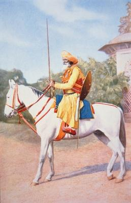 Maratha Horse Warrior of India