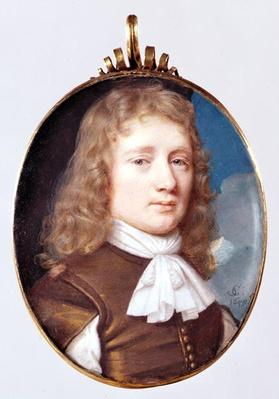 Miniature portrait of an Unknown Man, 1659