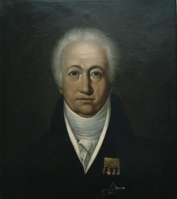 Portrait of Goethe, 1816