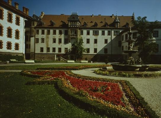 Schloss Elisabethenburg in Meiningen, built in 1682