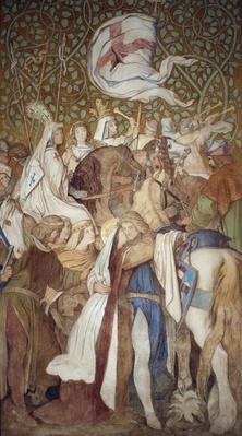 Fresco, Elisabeth-Galerie, Wartburg Castle, c.1845-55