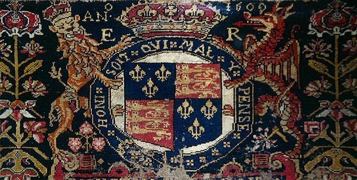 Heraldic panel carpet, 1600