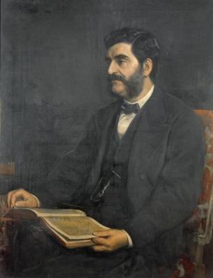Portrait of Hormuzd Rassam, 1869