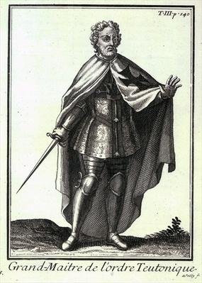 Grand Master of the Teutonic Order, an illustration from 'Histoire des Ordres Religieux, Monastiques et Militaires', by P. Helyot, pub. Paris, 1714-21