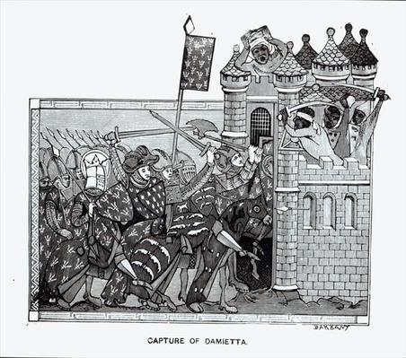 The Capture of Damietta in 1249