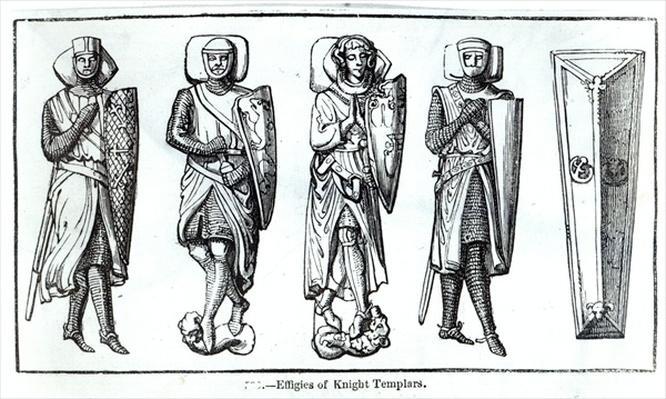 Effigies of Knights Templars