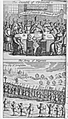 Frontispiece from 'The History of the Holy War: Began Anno 1095