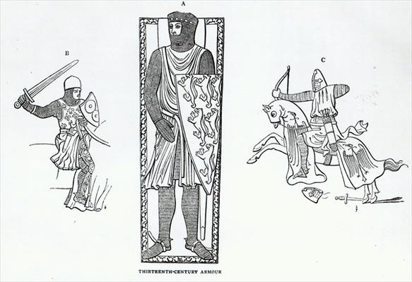 Thirteenth-century armour