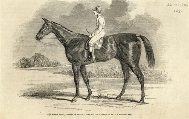 'Sir Tatton Sykes', Winner of the St. Leger, from 'The Illustrated London News', 26th September 1846