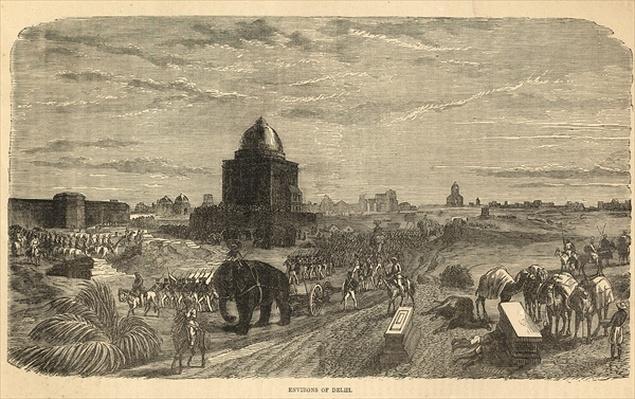 Environs of Delhi, 1857