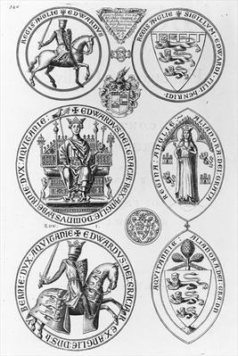 The Seals of Edward I