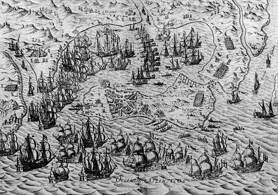 The Capture of Cadiz, 21 June 1596