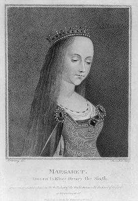 Margaret of Anjou, after an Ancient Picture in the Collection of the Right Honourable the Earl of Oxford, 1792