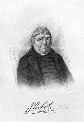 John Nichols, engraved by Woolnoth