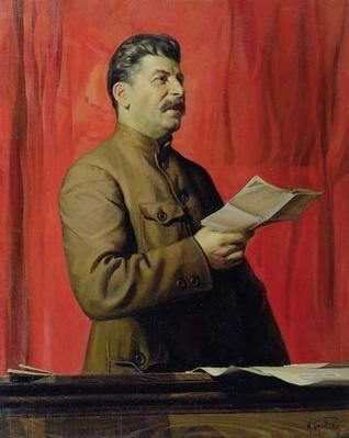 Portrait of Josif Stalin, 1933