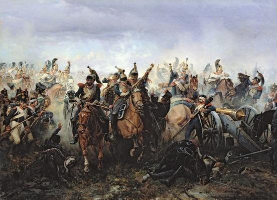 The Battle of La Fere-Champenoise, on the 25th March 1814, 1891