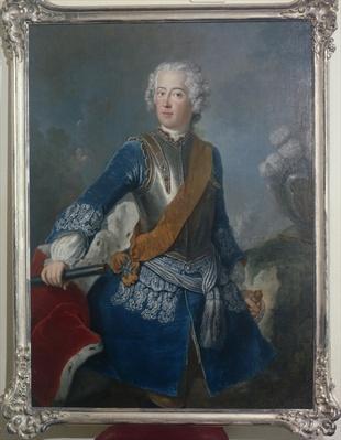 The Crown Prince Frederick II, c.1736
