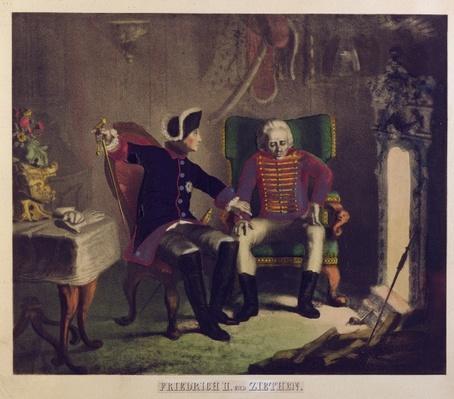 Frederick II and General von Ziethen