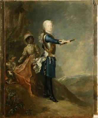 Frederick II as Crown Prince, c.1735