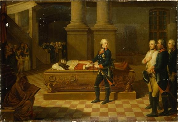 Frederick II in the Elector's Crypt