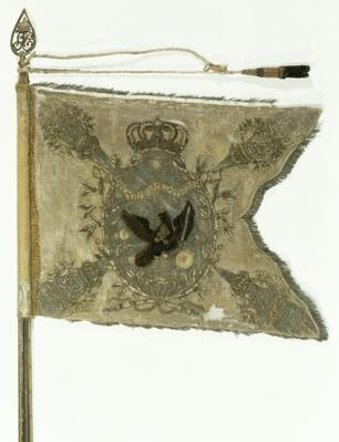 Flag of the Prussian Infantry under Frederick the Great