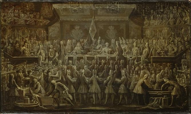 Prussian Coronation Dinner for Frederick I, 1701